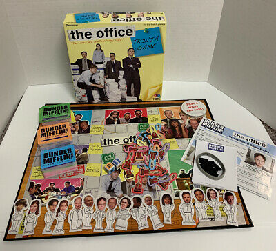 The Office Trivia Board Game #4123 NBC Pressman Dunder Mifflin 100% Complete