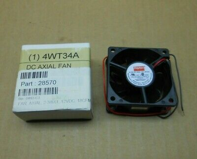 1 Nib Dayton 4Wt34A Electric Square Dc Axial Fan (4 Available)