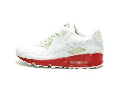 2006 NIKE AIR Max 90 (GS) 307793 112 WhiteWhite Varsity Red