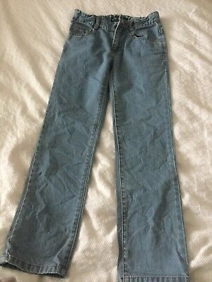 Mini Boden Boys Blue Jeans Skinny Age 9