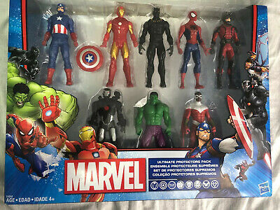 Marvel Ultimate Protectors Pack 8-Pack 6 Inch Action Figures New