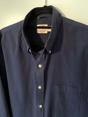 Brooks Brothers Slim Fit Cotton Shirt, Size L, Ivy Mod