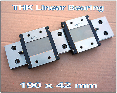 THK Linear bearing. 190mm LM guide rail. THK 2RSR15WVM 190LM