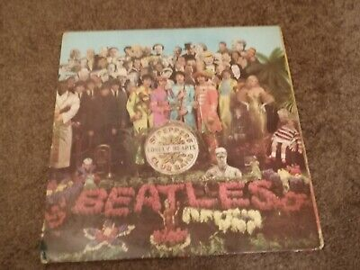 The Beatles Sgt Peppers Orig 1967 U.k. Stereo Pressing Used Some Wear On Sleeve