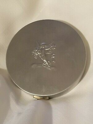 Vintage Signed Roger & Gallet  paris- New York Angel Compact ~ Beautiful