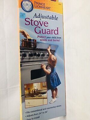 Prince Lionheart Shield-A-Burn Adjustable Stovetop Oven Stove Guard - 72021
