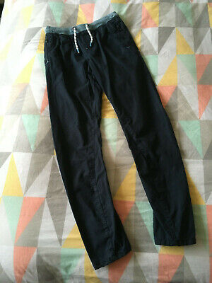 Boys Navy Blue Next Age 14 Pull on Casual Trousers Worn once,Excellent condition