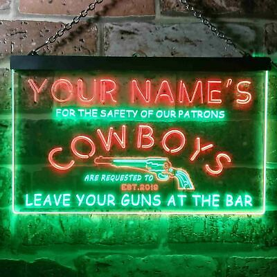 Personalized Tattoo Shop Arrow Name Man Cave Sign ENSA1001595