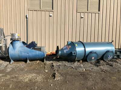 Spencer Vacuum Blower 55X75 31 Bag Filter Cyclone / Dust Collector 3200CFM 3PH