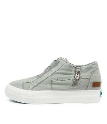 New Blowfish Mamba Sweet Grey Canvas Womens Shoes Casual Sneakers Casual