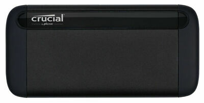 Crucial X8 - Solid State Drive - 500 Gb - External (Portable) - Usb... NEW