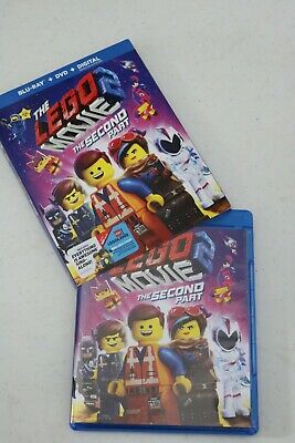 THE LEGO MOVIE 2: THE SECOND PART movie COMPLETE BLURAY DVD DIGITAL w/slipcover