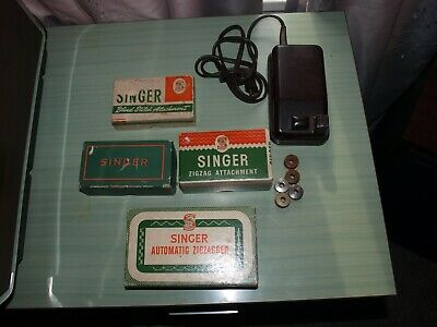 Vintage Lot of  Singer Sewing Machine Attachments Zigzag and more