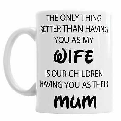 Mothers Day Wife Mum Family Novelty Mug Tea Coffee Office Cup personalised gift