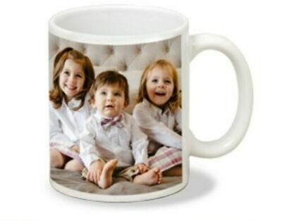 Personalised Photo Mug Cup Custom Printed With You're Picture & text or BOTH!