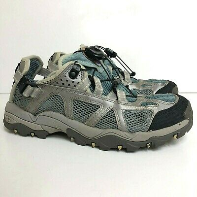 SALOMON TECHAMPHIBIAN MEN'S Size US 7 Mesh Hiking Trail