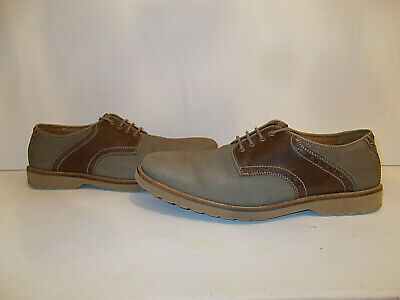 Mens Nubuck suede & Leather Clarks Shoes Size UK 10 G