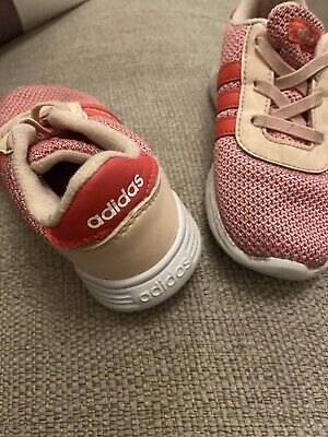 Girls Adidas Trainers, Infant Size 9