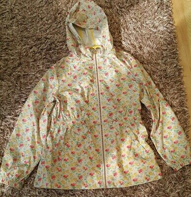 Next Girls 11 Years Floral Print Mac Raincoat Jacket Coat