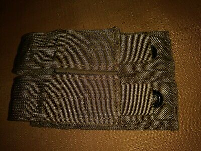 Eagle Industries Sflcs Fsbe Double 9Mm Mag  Pouch 2007 Molle Khaki Mjk New