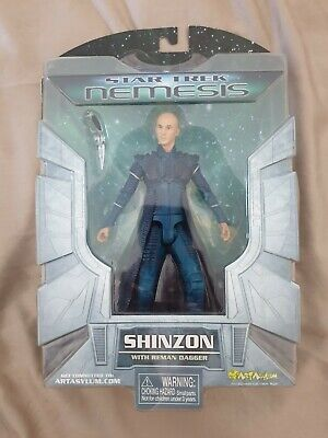 Star Trek Nemesis SHINZON Art Asylum Action Figure 2002 NEW