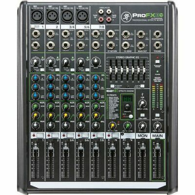Mackie ProFX 8V2 PA Mixer with FX and USB 4 Channel - New - FreeShipping