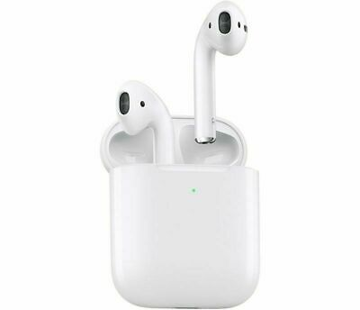 Refurbished Genuine Apple Airpods Wireless with Charging Case 2nd Generation UK
