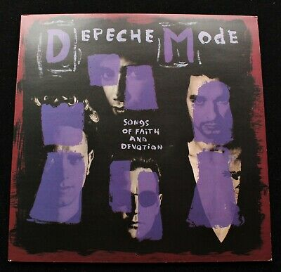 DEPECHE MODE Songs Of Faith And Devotion UK '93 1st pressing *MINT* LP