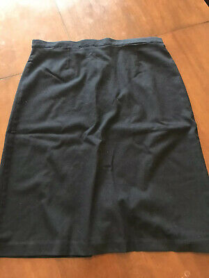 David Luke Navy Girls School Skirt Size 30 / 22 cm