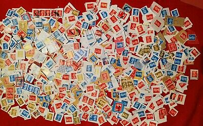 150g USED FRANKED 1st & 2nd Class Security,GB Postage STAMPS, No Unfranked, £5