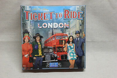 Ticket To Ride - London Days Of Wonder Board Game New Sealed