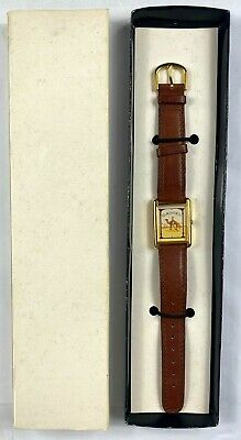 Vintage Joe Camel Cigarettes Sweda Watch Leather Band Japan Movement New