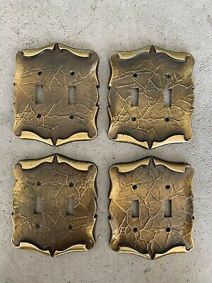 VINTAGE Amerock Carriage House Double  Switch Plate Covers