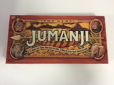 1995 Board Game - Jumanji - 100% Complete