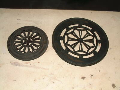 PAIR of ANTIQUE JEWELLERS WATCHMAKERS CLOCK CASE BACK DOORS 1 x A/F