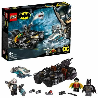 Lego DC Super Heroes Mr. Freeze Batcycle Battle (76118)