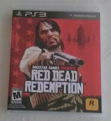 Red Dead Redemption (PlayStation 3, 2010) PS3 Complete CIP CIB Tested