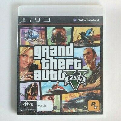 GTA 5 - Game for PS3 - Sony Playstation 3 - GUC