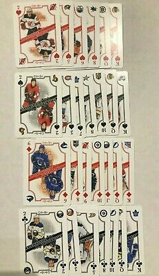 2019-20 19-20 Opc O-Pee-Chee Hockey Playing Cards 27 Card Lot - See List Below