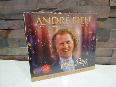 new/sealed ANDRE RIEU : HAPPY DAYS DELUXE EDITION CD and DVD. FAST/FREE POSTING.
