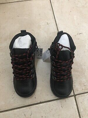 Boys Black Next Boots Size 10 BNWT Sporty / Hiking / Winter