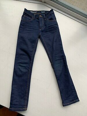 Next Indigo Boys Slim Fit Regular (skinny?) Jeans Age 9 Superb Condition