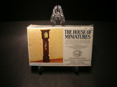 House of Miniatures No.40018 William and Mary Tall Case Clock NIB