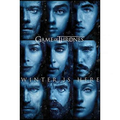 Game Of Thrones Poster Winter Is Here 209 Official Merchandise