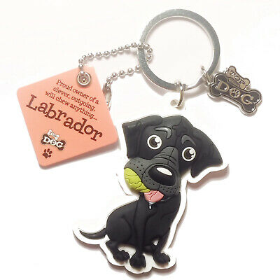 "Wags /& Whiskers Dog Key Ring /""Boxer/"" by Paper Island"