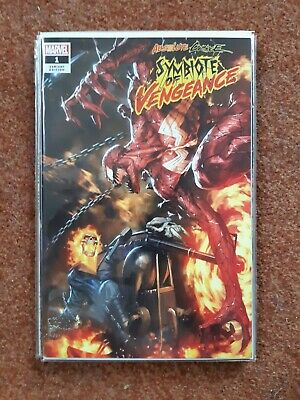 Absolute  Carnage Symbiote Of Vengeance 1 Limited Variant 335/600 With Coa Nm