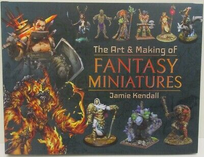 Pen & Sword - The Art & Making Of Fantasy Miniatures                       Book