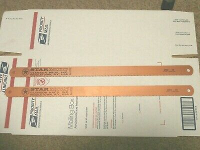 Lot Of 2 Pc Starmoly 710-54 17 X1X.050/10T Saw Bladesall Hard Hss