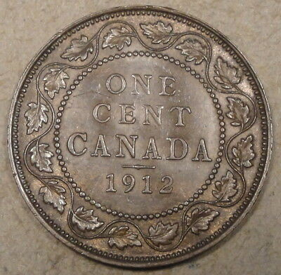 Canada 1912 Large Cent as Pictured