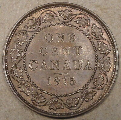 Canada 1915 Large Cent as Pictured